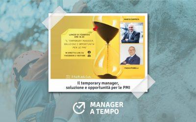 Il temporary manager, soluzione e opportunità per le PMI