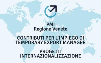 Contributi per progetti di Internazionalizzazione