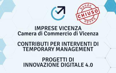 Contributi a supporto della digitalizzazione delle imprese operanti nella provincia di Vicenza