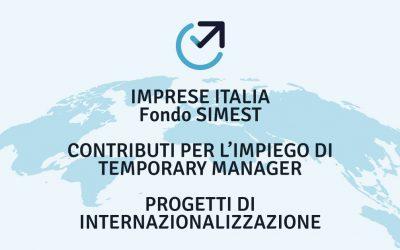 Contributi per l'internazionalizzazione delle imprese fondo simest
