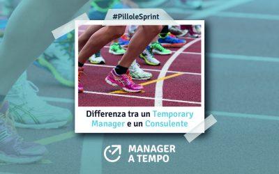 Differenza tra un Temporary Manager e un Consulente